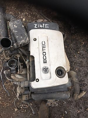VAUXHALL ASTRA MK4 / CORSA C 1.4L 00-04 COMPLETE ENGINE And Gearbox Z14XE