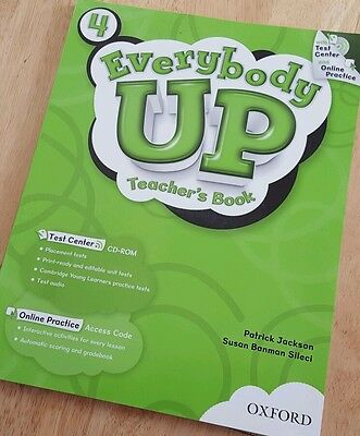 Everybody Up: 4: Teacher's Book with Test Center CD-ROM by Susan Banman Sileci P