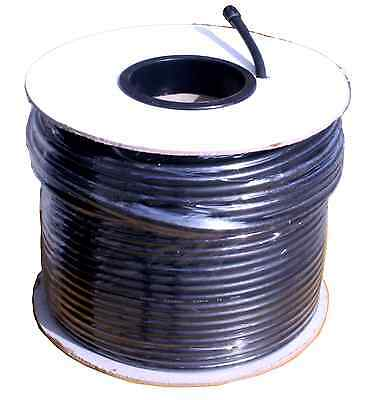 RG59U High Quality Coaxial Cable - 100 M Drum 64/0.12mm Foil & Screen Cable