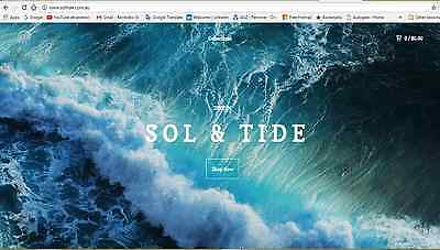 Online Business For Sale | Ethically Made Clothing | Sol & Tide | Boutique