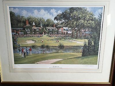 Belfry Ryder Cup signed limited edition print by Sheree Valentine Daines