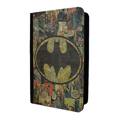 Comic Book Passport Holder Case Cover - Batman - S-A926