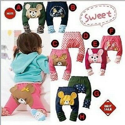 Baby Toddler Boy Girl Unisex Leggings Trousers Warmers Pants Tights.