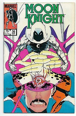 Moon Knight 1984 #36 Fine/Very Fine Doctor Strange