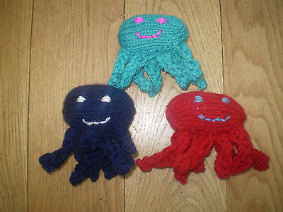 HAND Knitted Spider - Whinnybank Cat Sanctuary.  They Are Back!!!