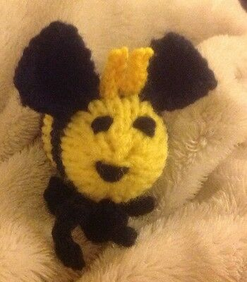 HAND KNITTED BUZZY BEE Sold For Whinnybank Cat Sanctuary.  They Are Back!!!