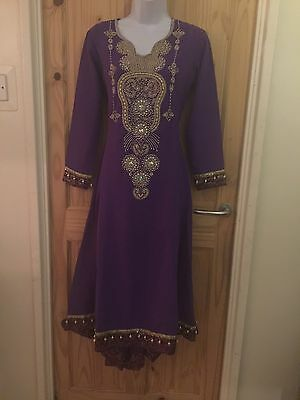 Indian Bollywood Anarkali Long Dress Chudidar