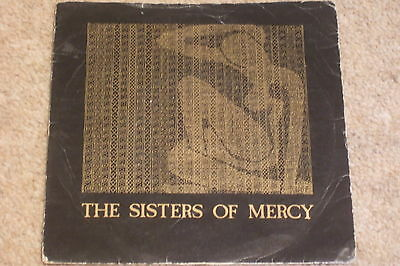 "The Sisters Of Mercy ‎– Alice 7""        1982   GOTH ROCK!!"