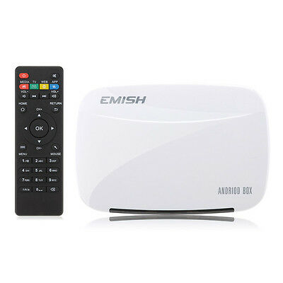 Emish X700 Rk3128 Quad Core 1Gb/8Gb 1080P Wifi Hdmi Xbmc Android Tv Box Mini Sma