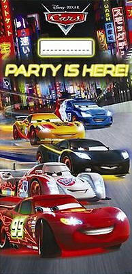 Disney PIXAR Cars Neon Children's Party Birthday Door Poster Banner Decoration