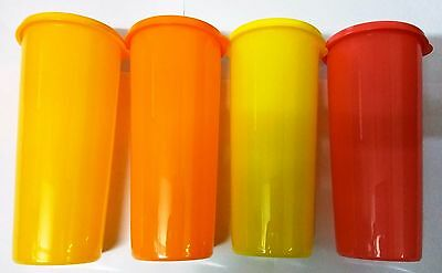 Tupperware Jumbo Tumbler, Set of 4, 16 oz/470 ml,