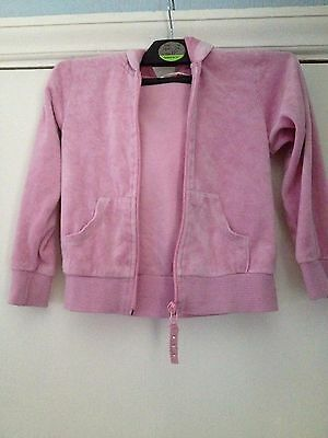 Girls age 4-5 years old made with love pink hoodie kids free UK postage