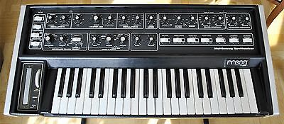 Moog Multimoog Analog Synth, Pro Serviced & Calibrated, Excellent Condition!