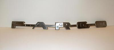 Fargo Truck letters grille emblem 1951 1952 1953 Stainless Steel B Series