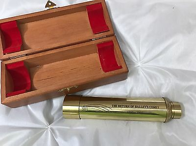 Collectible - The Return of Halley's Comet Telescope (1985-1986), w/ Case