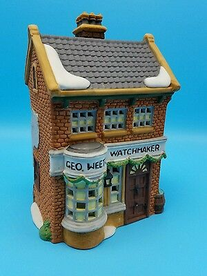 Department 56 Dickens Village Geo Weeton Watchmaker 59269 NIB Retired New