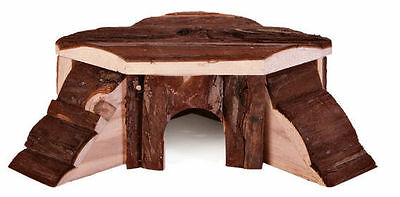 Cute little Play Corner House With Real Wood for Hamster Mice Mouse by TRIXIE
