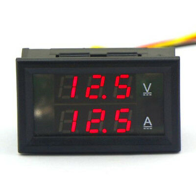 DROK® Digital Voltmeter Ammeter Voltage Current Meter DC 4.5-30V/10A 12V/24V Re