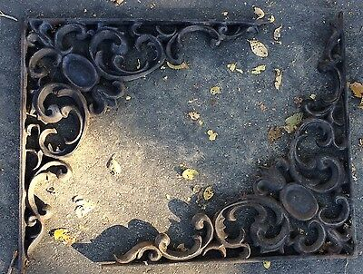 2 Cast Iron Brackets, Garden Braces Shelf Bracket