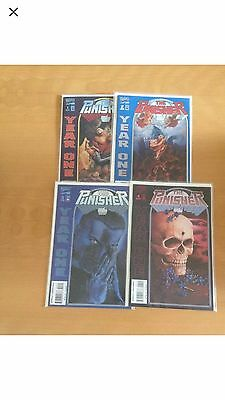 Marvel Comics The Punisher Year One 1-4 Rare Hard To Find
