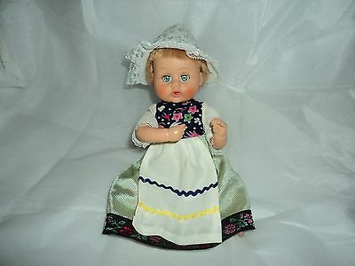 """Vintage 1964 American Character Teeny Tiny Tears 9"""" Doll   Drinks & Wets cute"""