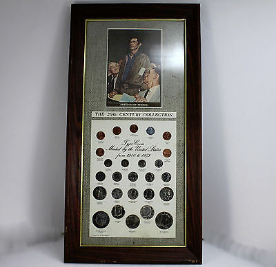 Norman Rockwell 20th Century Silver Coin Set.