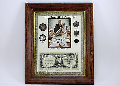 The Silver Standard Norman Rockwell Freedom From Want Coin Set