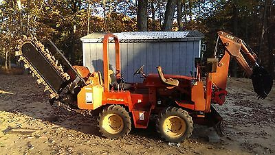 Ditch Witch 3500 Universal Machine with  Front Blade-Backhoe-Trancher-Cable Plow