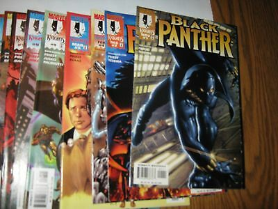 Marvel Comics Black Panther Priest 1998 lot Run 1-5++ 44 issues VF+ NM Avengers