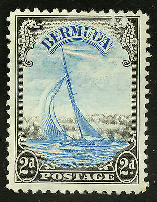 Bermuda  1936-40  Scott #109  Mint Lightly Hinged - Toned Gum