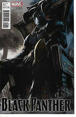 Black Panther # 6 D  Incentive Udon Variant Cover Nm+