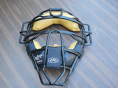 RAWLINGS PWMX  CATCHERS'  UMPIRES' MASK NO STRAPS NOS Free Shipping