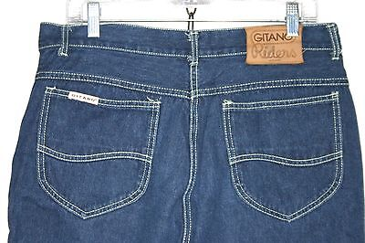 Vintage 80's GITANO Riders Jeans LARGE 34x34 High Waist Straight Leg Mom #w210