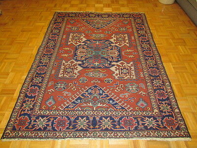 5 x 7 Semi Antique Hand Knotted Turkish Oriental Rug #B44