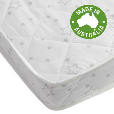 NEW Childcare INNER SPRING MATTRESS cot crib baby bed white innerspring baby au