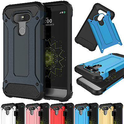 For LG G5 Phone Case Hybrid Armor Shockproof Rugged Rubber Heavy Duty Hard Cover