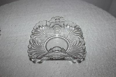 Vintage Cambridge Caprice Candy Nut Dish Bowl with Raised Handles Neat