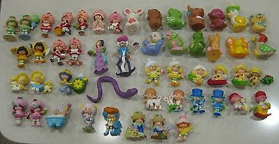 Strawberry Shortcake - LOT of 50 Different PVC FIGURES & PETS