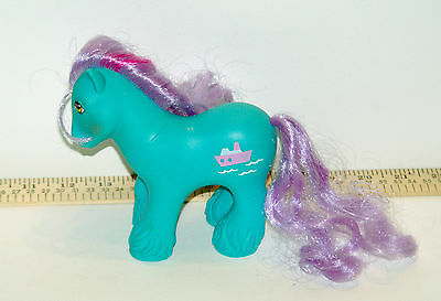 Vintage My Little Pony G1 Big Brother Salty Tug