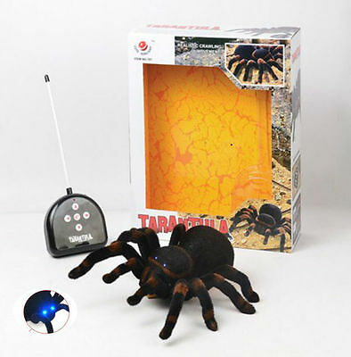 4CH Realistic Remote Control Pet Tarantula Spider Boys Child Kids Toy Xmas Gift