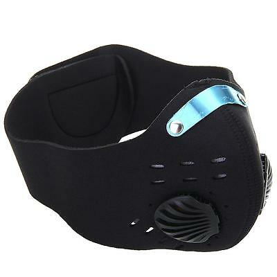 Mask Anti-Froid Demi Visage Masque Néoprène Polaire Paintball Moto Sports Vélo