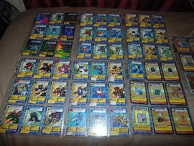 Digimon Card Collection (With List Below) 115 Cards (7 Holo, 46 1st Edition)