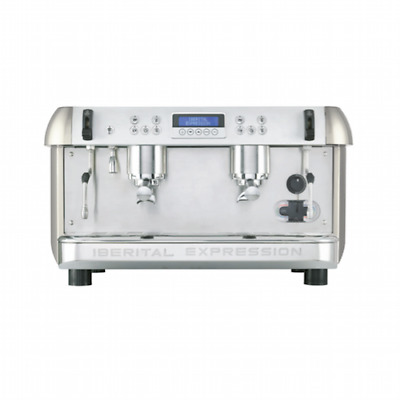 New Iberital Expression Two 2 Group Commercial Espresso Coffee Machine
