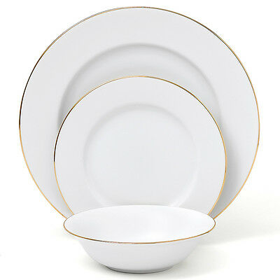 NEW Royal Doulton Simply Gold Dinner Set 12pce
