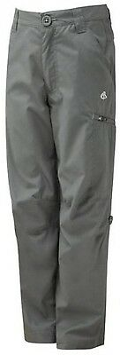 Craghoppers Kids Kiwi Trousers - Granite, Size 5-6