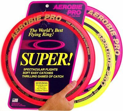 Flying Ring Frisbee Aerobie Disc Toys Pro Outdoor Sprint Toy Fun 13 Inch