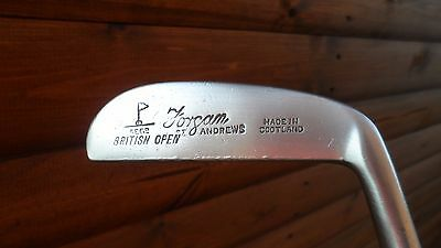 Forgan British Open St Andrews Right Handed Steel Shafted Vintage Putter,