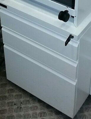 100 avbl DEXION FILING 3 DRAWER CABINET OFFICE STATIONERY TOOL STORAGE METAL WHL
