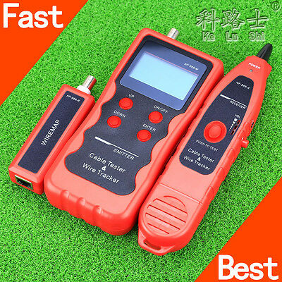 NF-868 Network LAN Cable Tester Wire Tracker Tracer RJ45/RJ11/BNC/USB