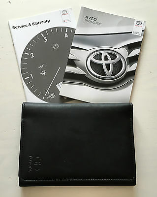 Toyota Aygo Owners Manual Handbook Pack With Wallet +Service 2014-2016 Ref3718
